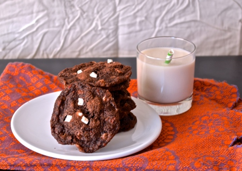 Mint Hot Cocoa Cookies | Pale Yellow