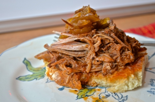 Apple Cider Pulled Pork | Pale Yellow