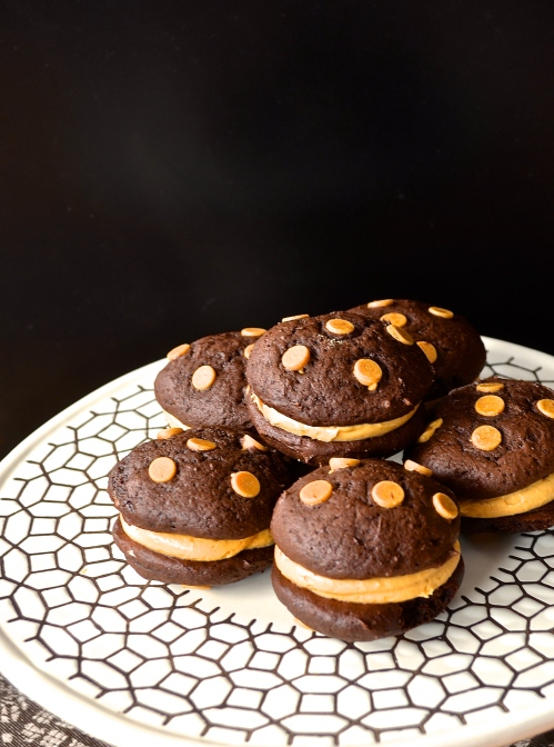 Peanut Butter Whoopie Pies | Pale Yellow