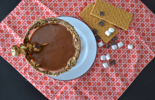 nutella smore martini | pale yellow