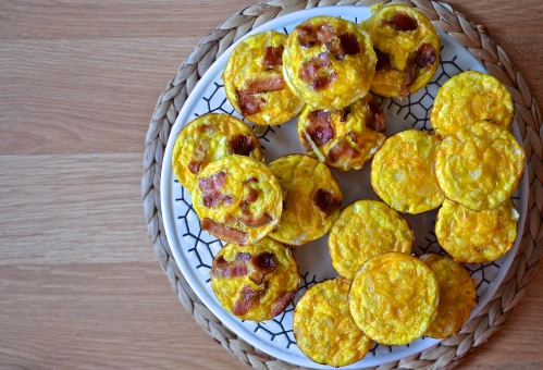 breakfast cupcakes | pale yellow