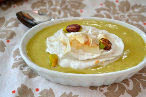 Pistachio Pudding (Dairy Free) | Pale Yellow