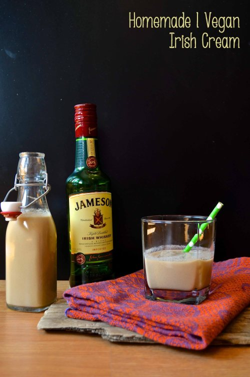 vegan irish cream | pale yellow