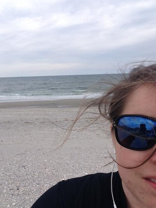 On Rockaway Beach   Pale Yellow