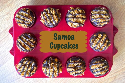 Samoa Cupcakes | Pale Yellow