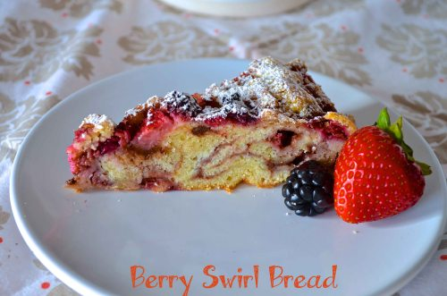berry swirl bread | Pale Yellow
