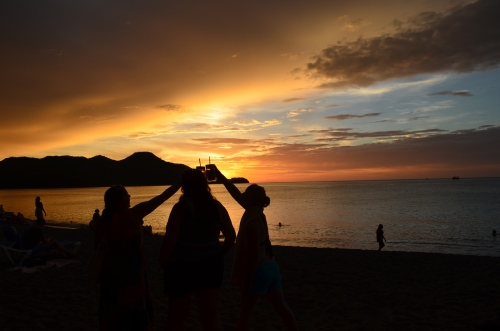 Costa Rican Sunset | Pale Yellow