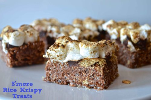 S'more Rice Krispy Treats | Pale Yellow