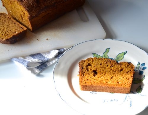 Pumpkin Bread | Pale Yellow