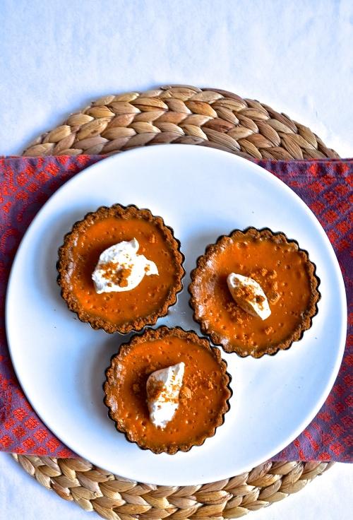 Sweet Potato Pie Tarts | Pale Yellow