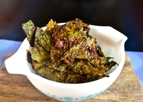 Smoked Paprika Kale Chips | Pale Yellow