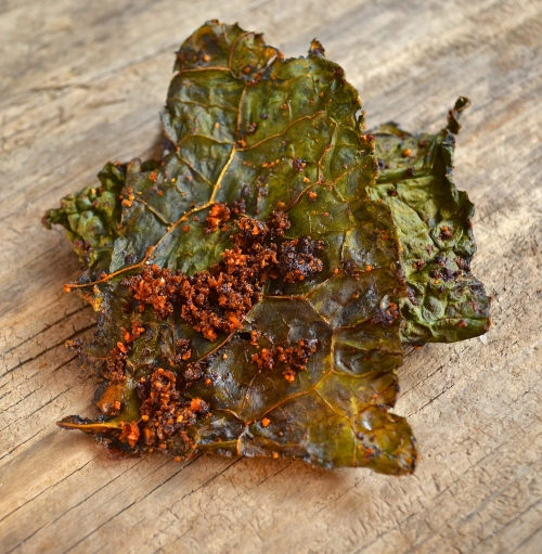 Smoked Paprika Kale Chips | Pale Yellow