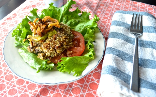 Vegan Lentil Burgers | Pale Yellow
