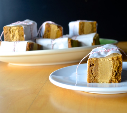 Vegan Pumpkin Ice Cream Sandwiches | Pale Yellow