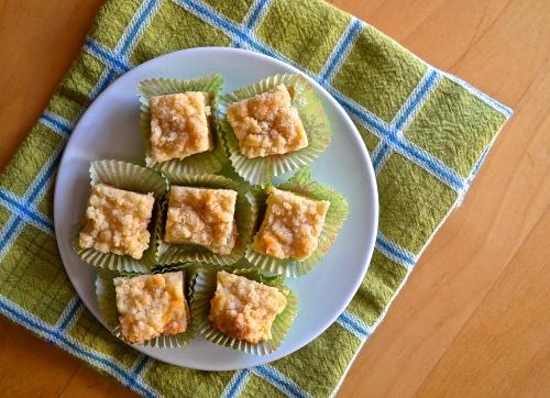 Eggnog Cheesecake Bars | Pale Yellow