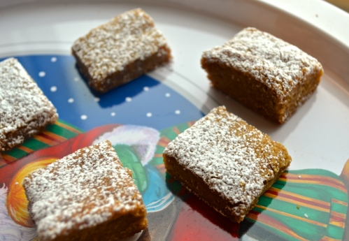 Gingerbread Squares | Pale Yellow