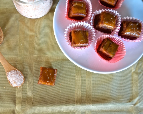 Salted Caramel Fudge | Pale Yellow